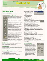 Microsoft Outlook 98 Quick Source Guide с с топорков microsoft outlook