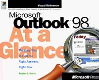 Microsoft Outlook 98 at a Glance harish nautiyal environment at a glance