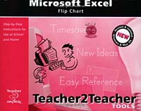 Microsoft Excel Flip Chart personal computer and software basics in english