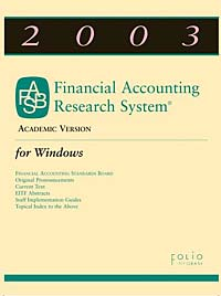2003 Financial Accounting Research System (FARS) CD: Academic Version for Windows cd smokie the other side of the road new extended version