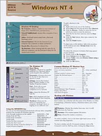 Microsoft Windows NT 4.0 Quick Source Guide corel wordperfect 8 0 quick source guide