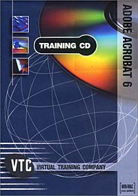 Adobe Acrobat 6 VTC Training CD autocad 2004 for architects vtc training cd