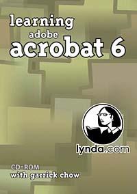 Learning Adobe Acrobat 6 learning adobe acrobat 6