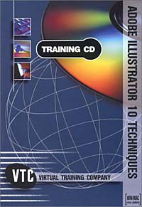 Adobe Illustrator 10 Techniques VTC Training CD autocad 2004 for architects vtc training cd