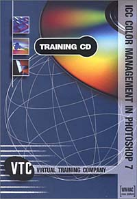 ICC Color Management In Photoshop VTC Training CD autocad 2004 for architects vtc training cd