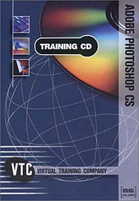 Adobe Photoshop CS VTC Training CD autocad 2004 for architects vtc training cd