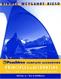 Principles of Accounting with Annual Report, Peachtree Complete Accounting principles of financial accounting
