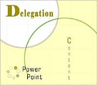 Delegation PowerPoint Content