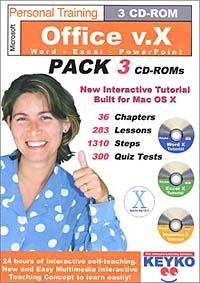 Microsoft Office v.X Training by Keyko cd диск fleetwood mac rumours 2 cd