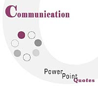 Communication Skills PowerPoint Quotes