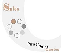 Sales PowerPoint Quotes