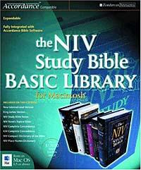цена на NIV Study Bible Basic Library for Macintosh ®, The