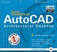 купить Curso Completo de AutoCAD Architectural Desktop, Basico/Avanzado / 2D/3D, Versiones 2 i/3.3 недорого