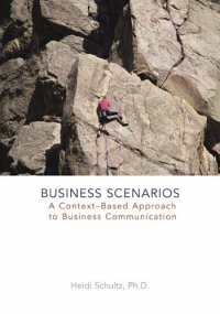 Business Scenarios : A Context-Based Approach to Business Communication