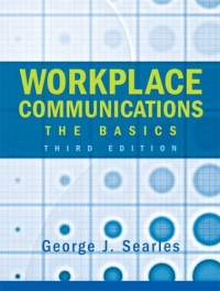 Workplace Communications : The Basics (3rd Edition) office live communications server