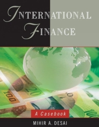 International Finance : A Casebook the corporate mergers
