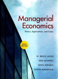 Managerial Economics, Sixth Edition handbook of international economics 3