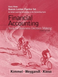 Financial Accounting, Beacon Lumber: An Active Learning Intro. to Financial Accounting : Tools for Business Decision Making