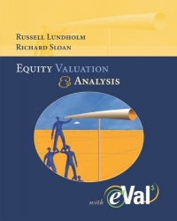 MP Equity Valuation and Analysis with eVal 2004 CD-ROM r johnson stafford equity markets and portfolio analysis