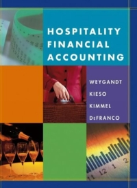Hospitality Financial Accounting principles of financial accounting