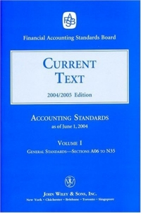 2004 Current Text (Accounting Standards Current Text) inventory accounting