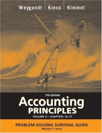 Accounting Principles, with PepsiCo Annual Report, Problem Solving Survival Guide, Volume II, Chapters 14-27 fundamentals of physics extended 9th edition international student version with wileyplus set