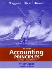 Accounting Principles, with PepsiCo Annual Report, Study Guide, Volume II, Chapters 14-27 fundamentals of physics extended 9th edition international student version with wileyplus set