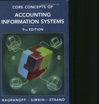 Core Concepts of Accounting Information Systems, Ninth Edition  information technology and accounting curriculum in egypt