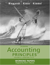 Accounting Principles, with PepsiCo Annual Report, Working Papers, Volume II