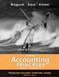 Accounting Principles, with PepsiCo Annual Report, Problem Solving Survival Guide, Volume I, Chapters 1-13 fundamentals of physics extended 9th edition international student version with wileyplus set
