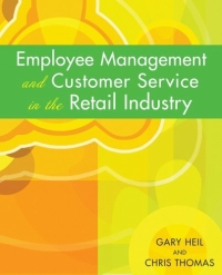 Employee Management and Customer Service in the Retail Industry managing the store