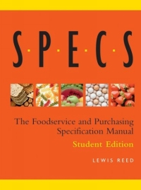 Specs : The Foodservice and Purchasing Specification Manual