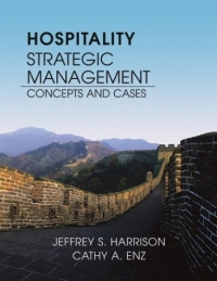 Hospitality Strategic Management : Concepts and Cases