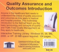 Quality Assurance and Outcomes Introduction: An Introduction to Quality and TQM Concepts in Healthcare For Health Personnel, Insurance Companies, HMOs, ... Pharmaceutical and Medical Device Employees infrared light breast scanning device for the women self examination and home healthcare and beauty