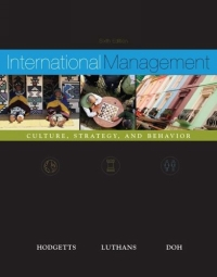 International Management : Culture, Strategy and Behavior w/ OLC card MP international management fourth edition
