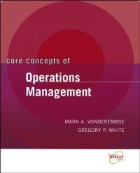 Core Concepts of Operations Management business fundamentals