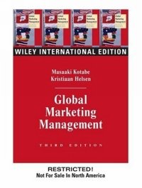 Global Marketing Management купить