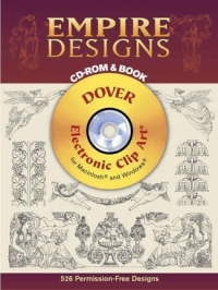 Empire Designs CD-ROM and Book (Dover Electronic Clip Art) zhou jianzhong ред oriental patterns and palettes cd rom