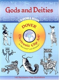 цена на Gods and Deities (Dover Electronic Clip Art)
