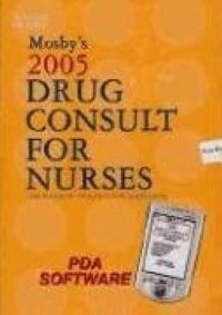 Mosby's 2005 Drug Consult For Nurses Pda Software nurses pocket drug guide 2012