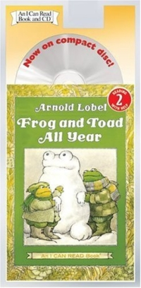 Frog and Toad All Year Book and CD (I Can Read Book 2) father and son of the complete collection of sound books classics children s comics best selling books