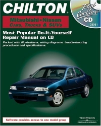 Chilton Mitsubishi And Nissan 1982-2000 Cars, Trucks, & Suvs: Most Popular Do-It-Yourself Repair Manual on CD (Total Car Care)