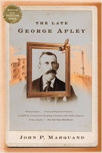 The Late George Apley the story of prince george
