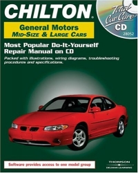 Chilton General Motors Mid - Size & Large Cars (1982-2000): Most Popular Do-It-Yourself Repair Manual On CD--Packed With Illustrations, Wiring Diagrams, ... And Specifications (Total Car Care)