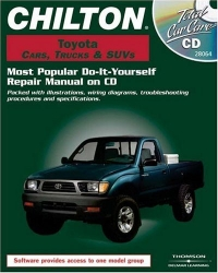Chilton Toyota Cars, Trucks, & SUVs: Most Popular Do-It-Yourself Repair Manual on CD (Total Car Care)