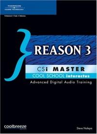 Reason 3 Csi Master silver s edit rio blu and jewel level 1 cd