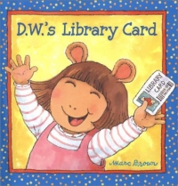 D.W.'s Library Card (D.W.) riggs r library of souls