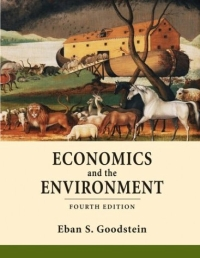 Economics and the Environment natural resource economics issues analysis and policy
