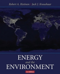 Energy and the Environment environment science issues solutions