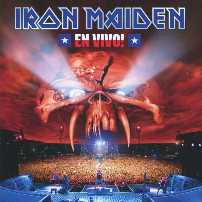 Iron Maiden Iron Maiden. En Vivo! (2 CD) музыка cd dvd cctv cd dsd